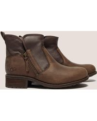 UGG - Womens Lavelle Ankle Boot Brown - Lyst