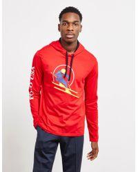 Polo Ralph Lauren - Cotton Jersey Hooded T-shirt - Lyst
