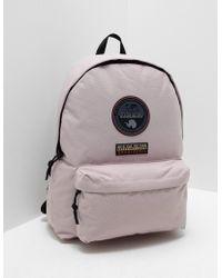 Napapijri - Mens Voyage Backpack Pink - Lyst