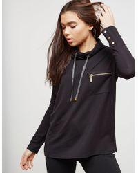 Barbour - Byway Sweatshirt Black - Lyst