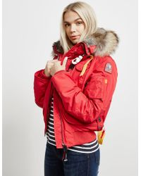 Parajumpers - Gobi Padded Bomber Jacket Red - Lyst