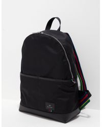 PS by Paul Smith - Mens Pocket Backpack - Online Exclusive Black - Lyst