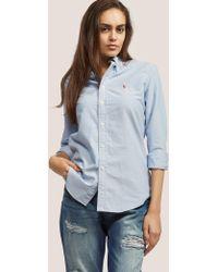 Polo Ralph Lauren - Womens Harper Shirt Blue - Lyst
