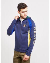 Polo Ralph Lauren - Mens Colour Block Zip Usa Hoodie - Online Exclusive Navy Blue - Lyst