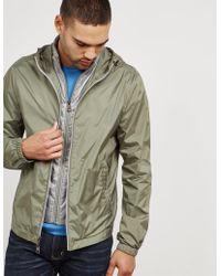 Michael Kors - Mens Full Zip Hooded Jacket Olive - Lyst