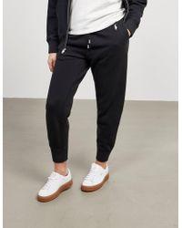 Polo Ralph Lauren - Womens Cuffed Joggers Black - Lyst