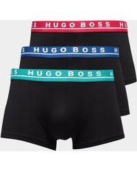 BOSS - Mens 3-pack Boxer Shorts Black - Lyst