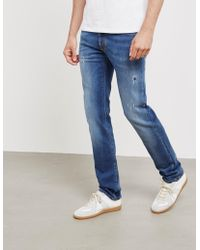 Jacob Cohen - Mens Distressed Jeans Blue - Lyst