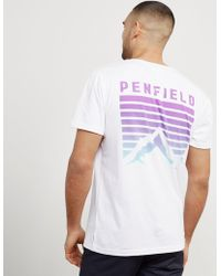 Penfield - Mens Back Print Short Sleeve T-shirt - Online Exclusive White - Lyst