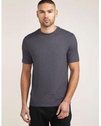 Armani - Mens Pattern Short Sleeve T-shirt Blue - Lyst