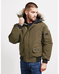 Canada Goose - Mens Chilliwack Padded Jacket Green - Lyst