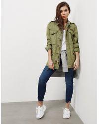 Polo Ralph Lauren - Womens Combat Jacket Green - Lyst