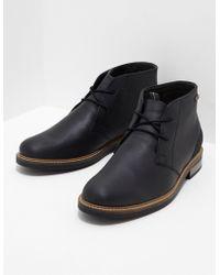 Barbour - Mens Readhead Boot Black - Lyst