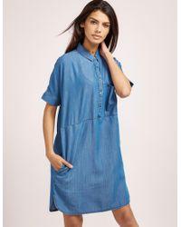 Barbour - Womens International Fairing Dress Blue - Lyst