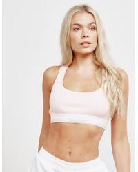 Calvin Klein - Womens Unlined Bralette Pink - Lyst