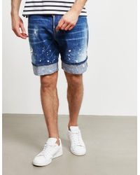 DSquared² Used Shorts Blue