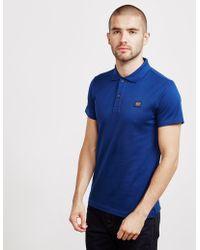 Paul And Shark - Mens Short Sleeve Pique Polo Shirt Blue - Lyst