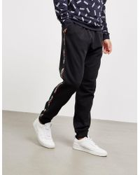 Moschino - Mens Tape Track Trousers Black - Lyst