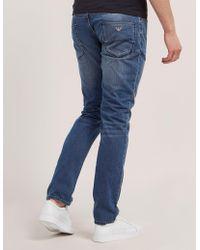 Armani Jeans - J06 Slim Fit Jeans - Lyst