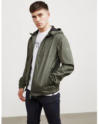 Emporio Armani | Mens Plain Hooded Jacket Green | Lyst