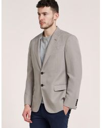 Armani - Mens Two Button Jacket Beige - Lyst