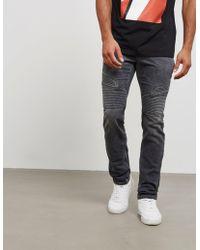 Neil Barrett - Mens Biker Slim Jeans Grey - Lyst