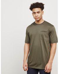 Z Zegna - Mens Pocket Short Sleeve T-shirt - Online Exclusive Green - Lyst