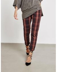 Vivienne Westwood - Womens Anglomania Tartan Jeans Red - Lyst