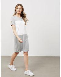 Barbour - Womens International Contrast Dress - Online Exclusive Grey - Lyst
