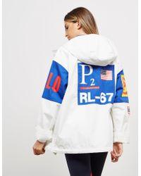 Polo Ralph Lauren - Womens Cp-93 Windbreaker Jacket White - Lyst