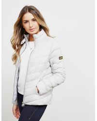 Barbour - Womens International Aubern Quilted Jacket White - Lyst