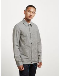 PS by Paul Smith - Mens Gingham Coach Jacket - Online Exclusive Black - Lyst