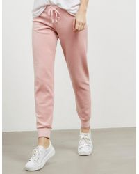 Juicy Couture - Womens Zuma Cuffed Track Trousers - Online Exclusive Pink - Lyst