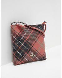 51e93e28c01 Vivienne Westwood Heidi Medium Crossbody Bag in Blue - Lyst