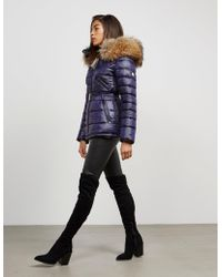 FROCCELLA - Womens Padded Belt Jacket Blue - Lyst