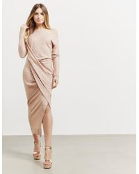 Vivienne Westwood - Womens Anglomania Vian Dress Nude - Lyst