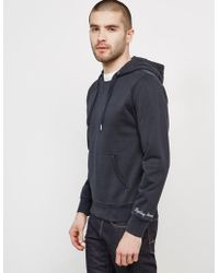 Replay - Mens Overhead Hoodie Black - Lyst