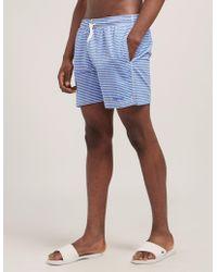 Barbour - Milton Swim Shorts - Lyst