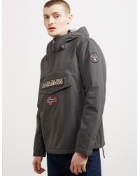 Napapijri - Rainforest Winter Padded Jacket Dark Grey - Lyst