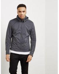 Pal Zileri - Mens Trim Hooded Jacket Grey - Lyst