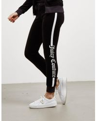 Juicy Couture - Womens Zuma Track Trousers Black - Lyst