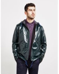 PS by Paul Smith - High Shine Hooded Jacket - Online Exclusive Green - Lyst