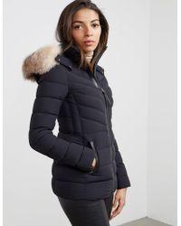Mackage - Womens Pt-x Fur Padded Jacket Black - Lyst
