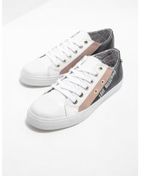 Love Moschino - Womens Low Top Trainers White - Lyst