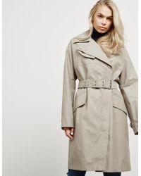 Belstaff - Womens Tailworth Mac Jacket - Online Exclusive Green - Lyst