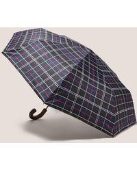 Barbour Telescopic Umbrella - Blue