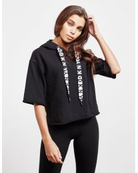 DKNY - Sport Cropped Logo Hoodie, Created For Macy's - Lyst
