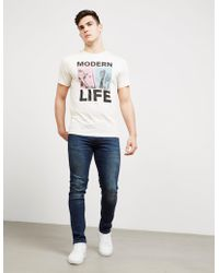 PS by Paul Smith - Mens Modern Life Short Sleeve T-shirt White - Lyst
