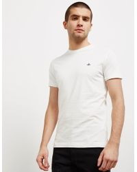 Vivienne Westwood - Mens Orb Short Sleeve T-shirt White - Lyst
