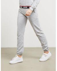 Moschino - Womens Taped Logo Sweatshirt Grey, Grey - Lyst